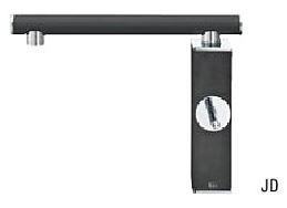 ###≧π三栄水栓/SANEI 水栓金具【K87310JK-JD-13】寒冷地 シングルワンホール混合栓 墨磁 受注生産