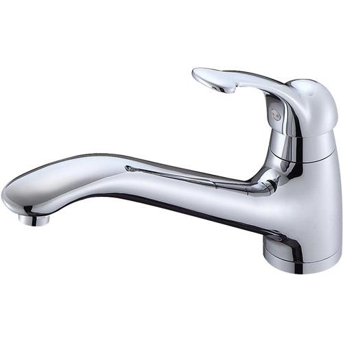 ≧π三栄水栓/SANEI 水栓金具【K87710JK-13】寒冷地 シングルワンホール混合栓