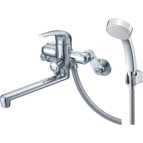 『カード対応OK!』π三栄水栓/SANEI 水栓金具【SK170S9-13】シングルシャワー混合栓