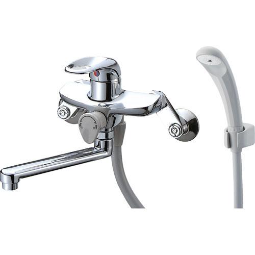 ▽π三栄水栓/SANEI 水栓金具【SK1710-13】シングルシャワー混合栓