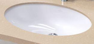 ビレロイ&ボッホ 『カード対応OK!』リラインス エヴァナ アンダーカウンター型洗面器【6144.00.01】(洗面器のみ)