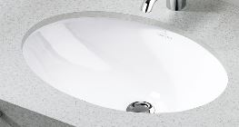 『カード対応OK!』リラインス アンダーカウンター型手洗器【6147.00.01】(手洗器のみ) ビレロイ&ボッホ エヴァナ