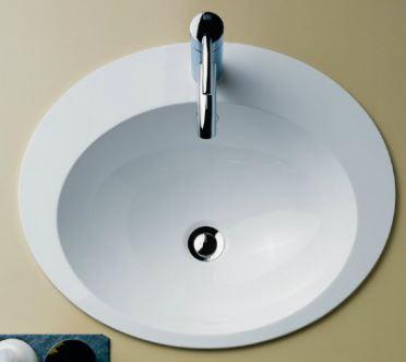 『カード対応OK!』リラインス オーバーカウンター型洗面器【EB.O500H】(洗面器のみ) アラペ