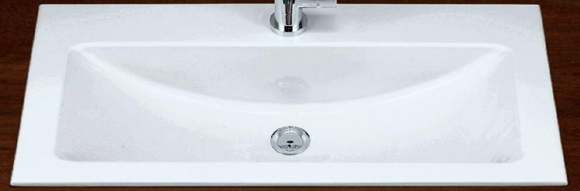 『カード対応OK!』リラインス オーバーカウンター型洗面器【EB.R800H】(洗面器のみ) アラペ