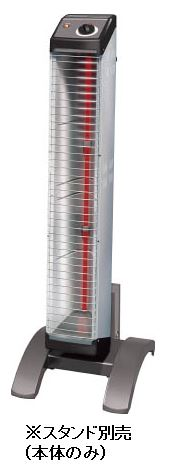 『カード対応OK!』##ダイキン 遠赤外線暖房機 セラムヒート【ERK15NNV】床置スリム形 (ヒーター本体のみ) シングルタイプ 工場・作業所用 (単相200V) 1.5kW