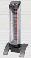 『カード対応OK!』##ダイキン 遠赤外線暖房機 セラムヒート【ERKS10NV】床置スリム形 自動首振タイプ 工場・作業所用 (単相200V) 1kW