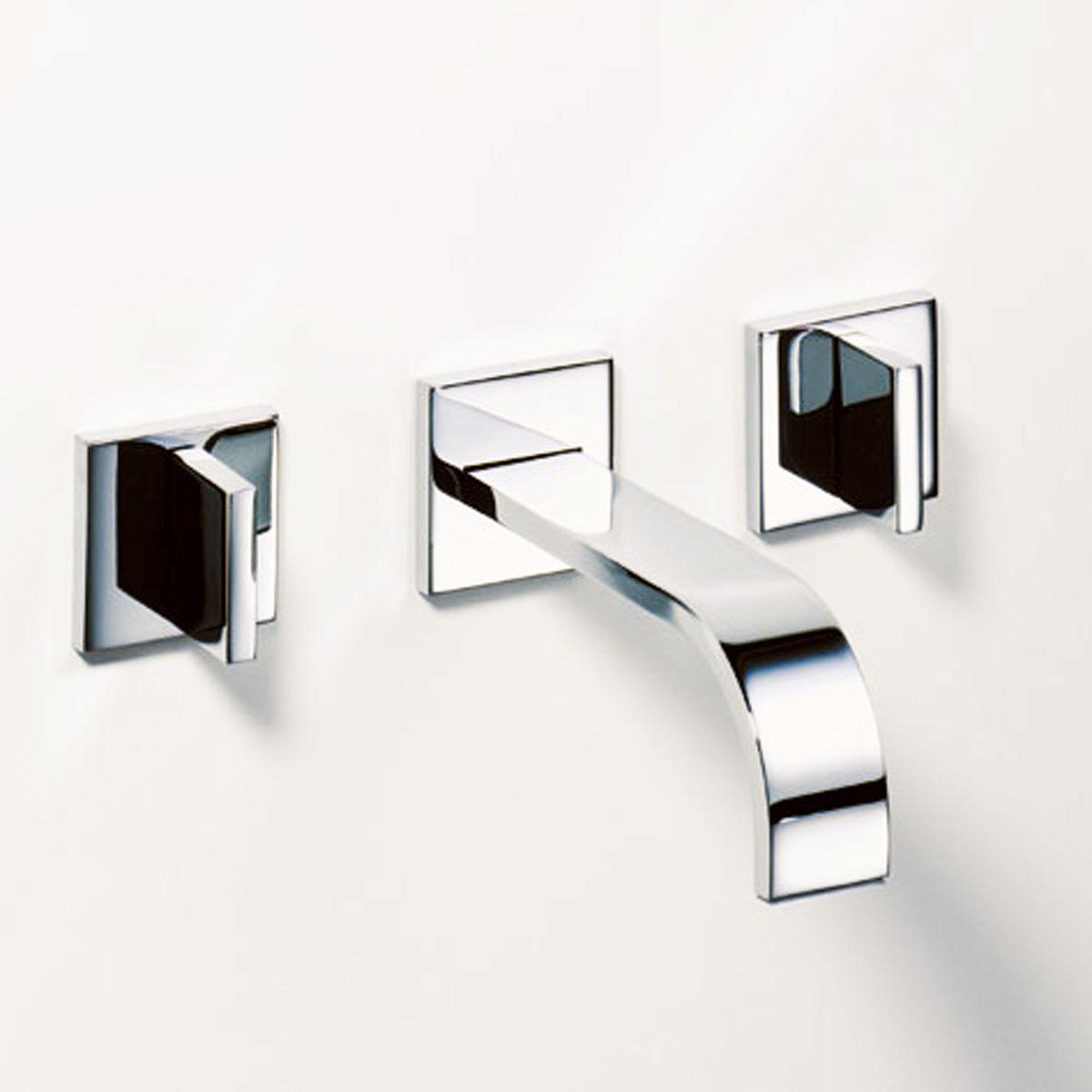 『カード対応OK!』###リラインス 洗面用水栓【36.712.782.00+35.707.970.90(埋込部)】壁埋込型2バルブ洗面用混合栓(200mm) エアレーター付 ドンブラハ メム 受注約2ヶ月