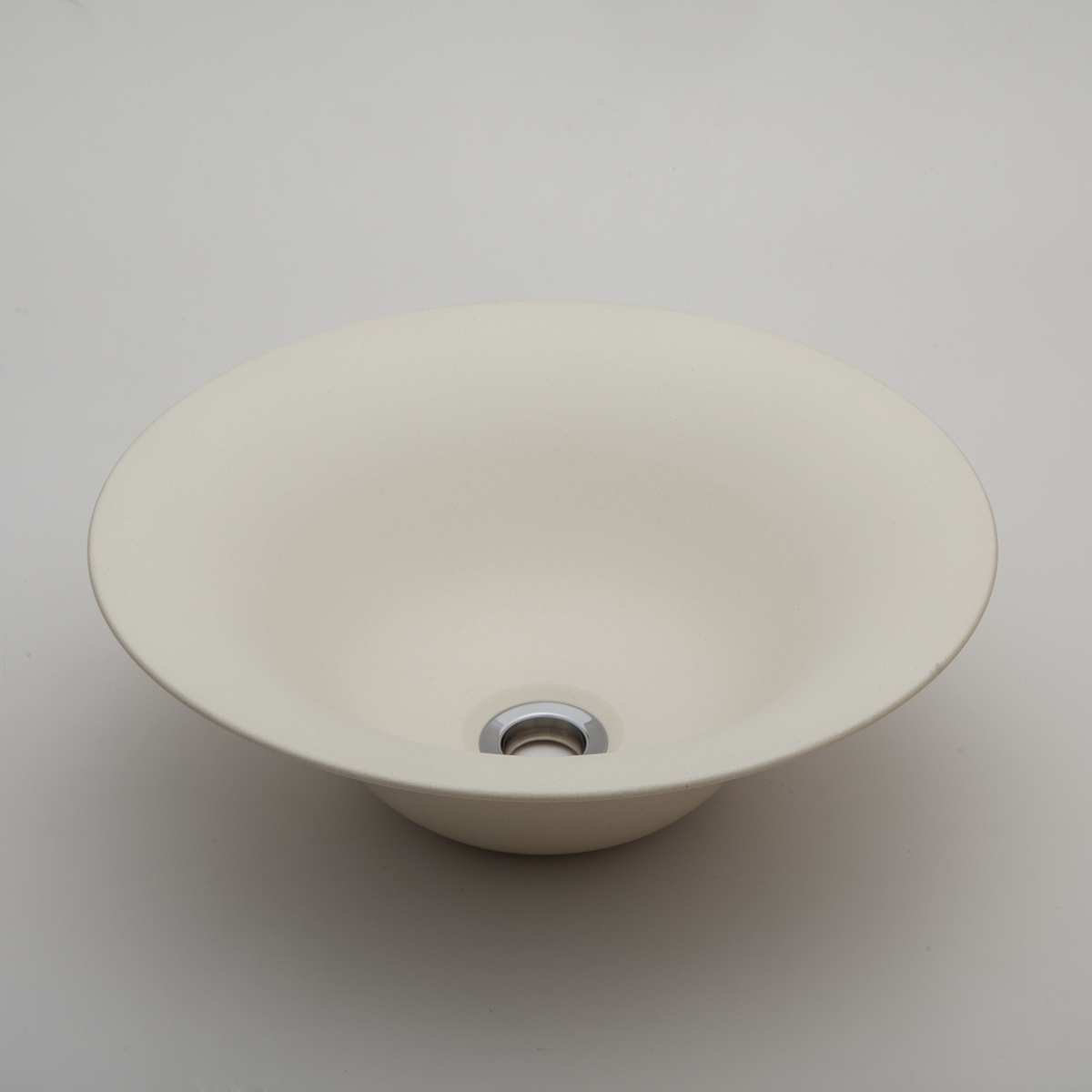 『カード対応OK!』###リラインス 置き型手洗器【LSM4-NE】(練色) (手洗器のみ) モノクロームシリーズ φ326 受注約2週間