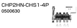 ♪ノーリツ 端末器 関連部材【0500630】CHP2HN-CHS1-4P