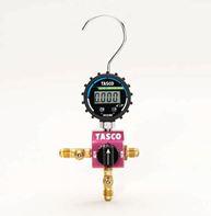 『カード対応OK!』■V.TASCO【TA123DG-1】R32・R410A用ボールバルブ式デジタルシングルマニホールドキット