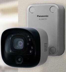 『カード対応OK!』パナソニック ドアホン連携ワイヤレスカメラ【VL-WD712X】電源直結式 AC100V