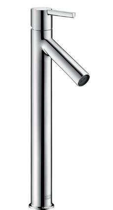 『カード対応OK!』ハンスグローエ【10103000】アクサースタルク シングルレバー洗面混合水栓 360 (ベッセル型洗面器用、ポップアップ引棒無)