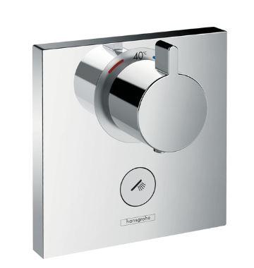 『カード対応OK!』ハンスグローエ【15761000】シャワーセレクト 埋込式ハイフローサーモスタットシャワー混合水栓 (化粧部)