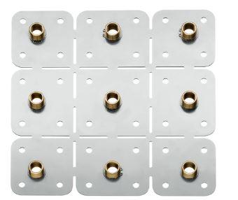 『カード対応OK!』∬∬ハンスグローエ 埋込パーツ【28470180】アクサー シャワーコレクション シャワーモジュール (天井取付用埋込部)