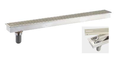 『カード対応OK!』三栄水栓/SANEI バス・空調用品【H9010D-150X1200】浴室排水グレーチング 幅150 長さ1200