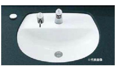 INAX 洗面器【L-2094FC】はめ込みだ円形洗面器(アンダーカウンター式) 洗面器本体のみ