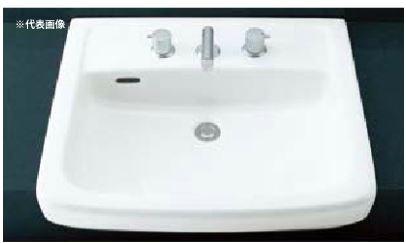 ▽INAX/LIXIL 洗面器【L-2149CD】はめ込み大形洗面器(オーバーカウンター式) 洗面器本体のみ