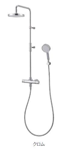 ≧≧三栄水栓/SANEI 水栓金具【SK1841-1S-13】サーモシャワー混合栓 クロム