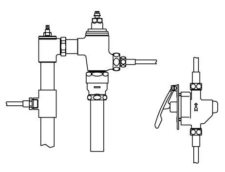 ###▽INAX リモコンフラッシュバルブ【CFR-680UPK-C】押しボタン式(レバー式) 隠ぺい形ボックス無 上水 受注約4週