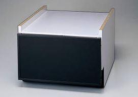 ###リンナイ 食器洗い乾燥機 オプション【KWP-454K-B】下部キャビネット ブラック 45cm幅 スライドオープンタイプ用