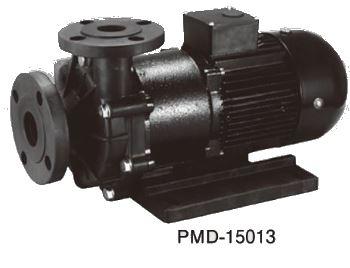 三相電機 マグネットポンプ【PMD-15013A2Z-E3】50Hz 大型 マグネットカップリングタイプ (ケミカル・海水用) 三相200V 1500W フランジ接続