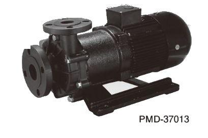 三相電機 マグネットポンプ【PMD-37013B2Z-E3】60Hz 大型 マグネットカップリングタイプ (ケミカル・海水用) 三相200V 3700W フランジ接続