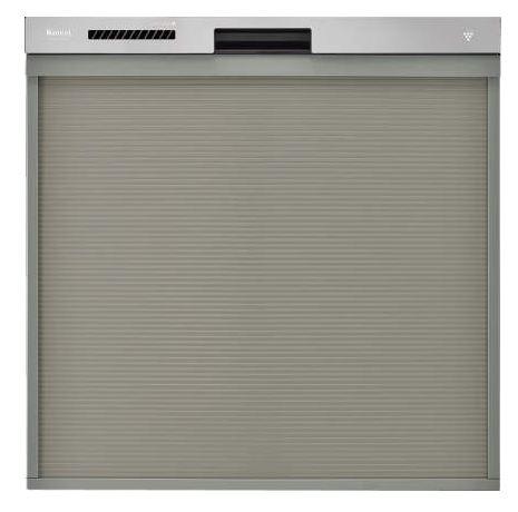 ###▽リンナイ 食器洗い乾燥機【RSW-404LP】取替用タイプ スライドオープン ステンレス調ハーフミラー 幅45cm ハイグレード