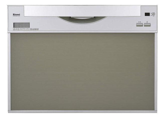 ###▽リンナイ 食器洗い乾燥機【RSW-601C-SV】取替用タイプ スライドオープン シルバー 幅60cm