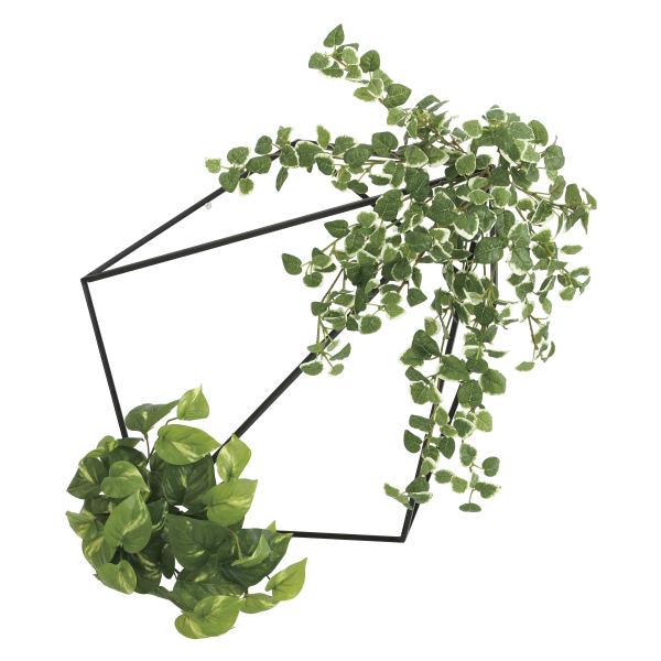 《アートグリーン》《人工観葉植物》光触媒 光の楽園 壁面緑化プミラ&ポトス