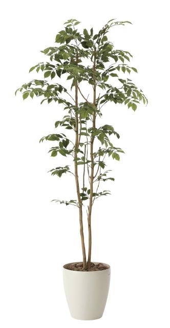 《アートグリーン》《人工観葉植物》光触媒 光の楽園 マウンテンアッシュ 1.6