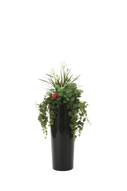 【送料無料】《アートグリーン》《人工観葉植物》光触媒 光の楽園 寄せ植えユッカ1.3