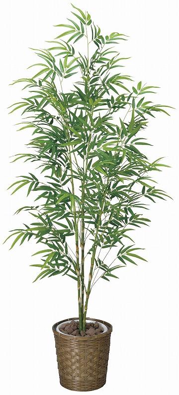 【送料無料】《竹・バンブー》《アートグリーン》《人工観葉植物》光触媒 光の楽園 青竹 1.8