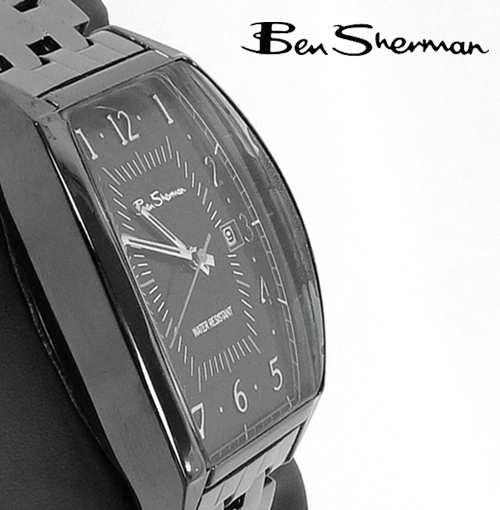 ベンシャーマン Ben Sherman ブラック フェイス 腕時計 【送料無料】 メンズ ベンシャーマン プレゼント ギフト