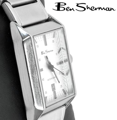 訳あり ベンシャーマン Ben Sherman シルバー フェイス 腕時計 【送料無料】 メンズ ベンシャーマン アウトレット ギフト