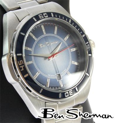 セール ベンシャーマン Ben Sherman グラデーション ダイバーズ 腕時計 メンズ 【送料無料】 モッズ ファッション アナログ ウォッチ ステンレス スチール ベルト UK モッズ r363 ギフト