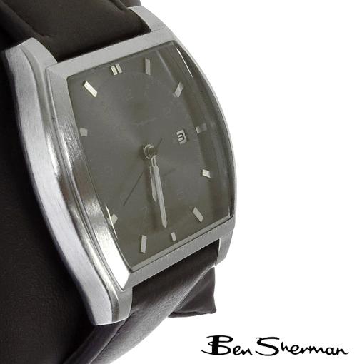 ベンシャーマン Ben Sherman グレー フェイス 腕時計 メンズ プレゼント ギフト