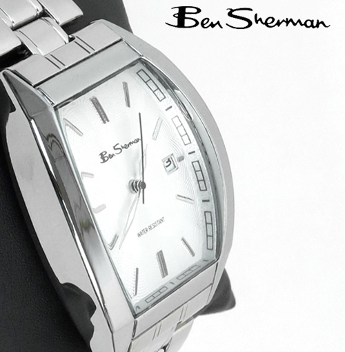 ベンシャーマン Ben Sherman シルバー 腕時計 メンズ プレゼント ギフト