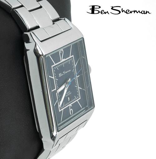 ベンシャーマン Ben Sherman シャローブルー フェイス 腕時計 【送料無料】 メンズ モッズ プレゼント ギフト