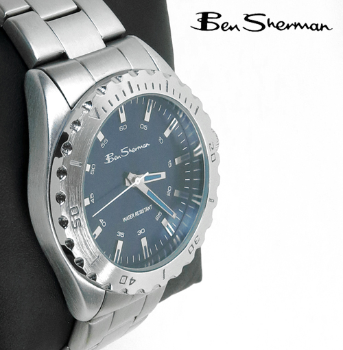 Ben Sherman シャローブルー フェイス ダイバーズウォッチ 腕時計 【送料無料】 メンズ ベンシャーマン プレゼント ギフト