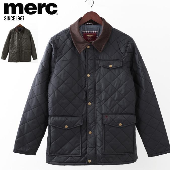 メルクロンドン メンズ キルティングジャケット Merc London Jacket ジャケット モッズファッション プレゼント ギフト