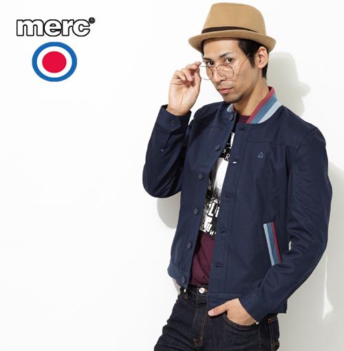 メルクロンドン Merc London ショートジャケット ジャケット ブルゾン W1 プレミアム メンズ プレゼント ギフト