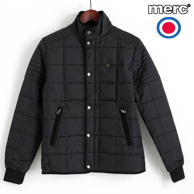 メルクロンドン Merc London ライダージャケット キルティング ブラック ブルゾン メンズ モッズファッション プレゼント ギフト