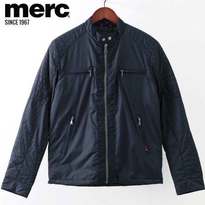 メルクロンドン メンズ キルティングジャケット Merc London W1 プレミアム ライダージャケット 19SS 新作 ダークネイビー Jacket ジャケット モッズファッション プレゼント ギフト