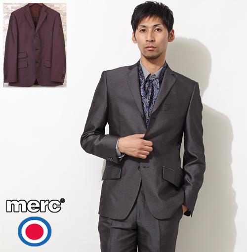 メルクロンドン Merc London メルク トニック ジャケット 2色 【送料無料】 メンズ プレゼント ギフト