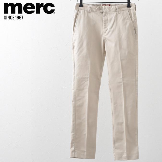 メルクロンドン メンズ トラウザー チノパン モッズ メルク ボトムス パンツ ズボン クリーム Merc London プレゼント ギフト