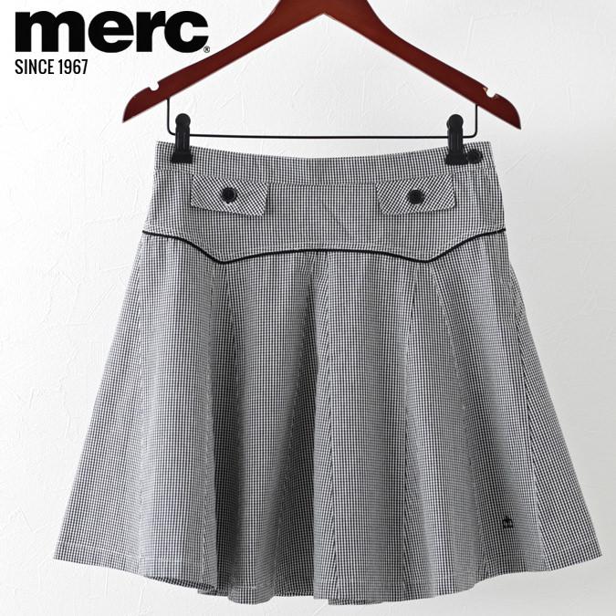 メルクロンドン レディース スカート Merc London プリーツ チェック 女性 モッズ プレゼント ギフト