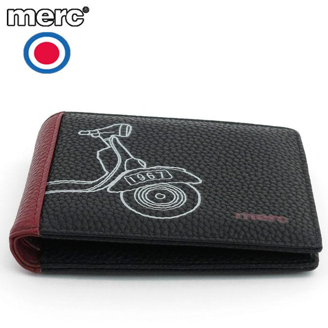 メルクロンドン Merc London 財布 スクーター プリント ウォレット 二つ折り財布 メンズ モッズファッション プレゼント ギフト