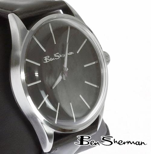 ベンシャーマン Ben Sherman オーバル ダークネイビー フェイス 腕時計 メンズ プレゼント ギフト