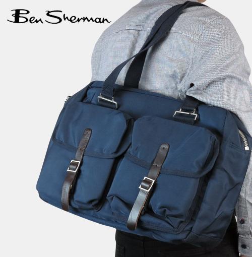 ベンシャーマン Ben Sherman ライトウェイト メモリー ナイロン カーゴ バッグ メンズ 【送料無料】 軽量 モッズ プレゼント ギフト