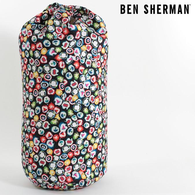 ベンシャーマン Ben Sherman スイムバッグ ショルダーバッグ プールバッグ 水泳バッグ 62x40x28cm ネイビー メンズ レディース プレゼント ギフト